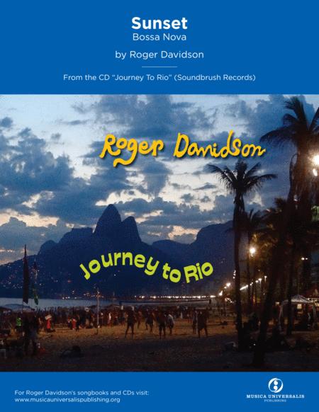 Sunset (Bossa Nova) by Roger Davidson
