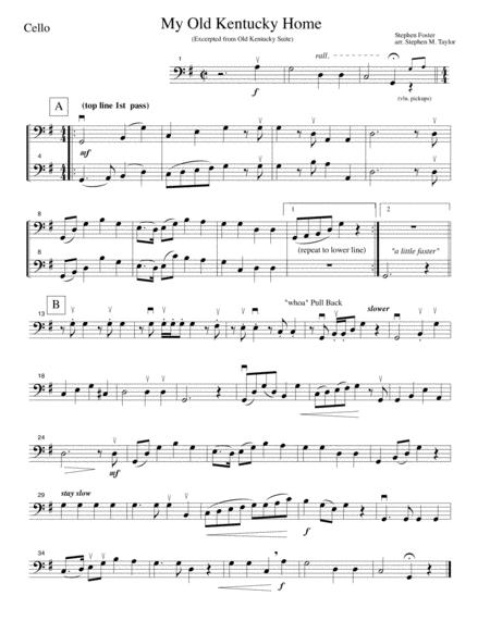 My Old Kentucky Home (string quartet)