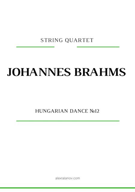 Hungarian Dance №12