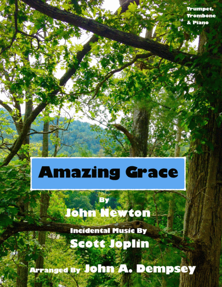 Amazing Grace / The Entertainer (Trio for Trumpet, Trombone and Piano)