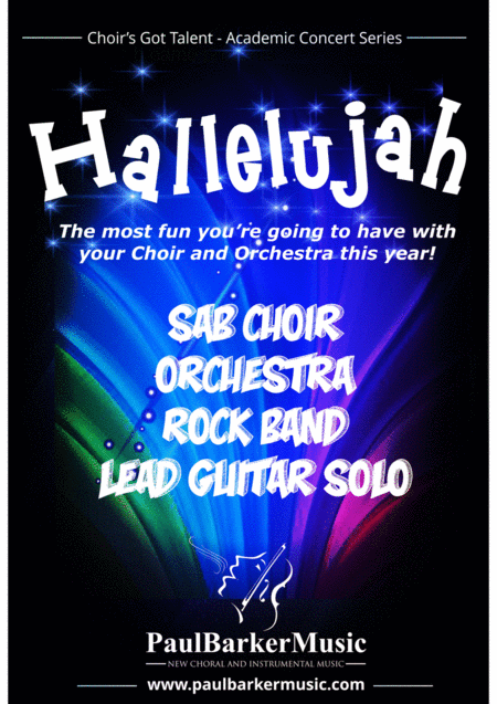 Hallelujah! (SAB Choir - Orchestra - Rock Band)