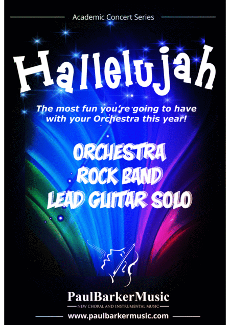 Hallelujah! (Orchestra & Rock Band)