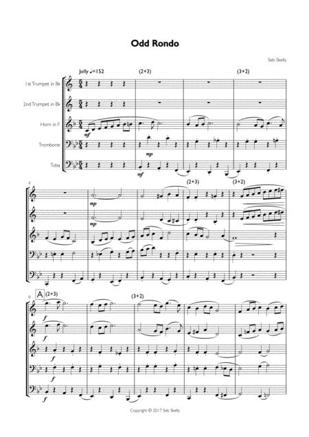 Odd Rondo - Brass Quintet