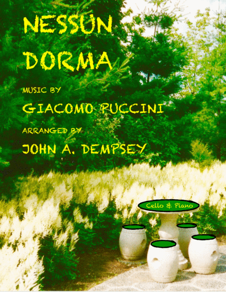 Nessun Dorma (Cello and Piano Aria)