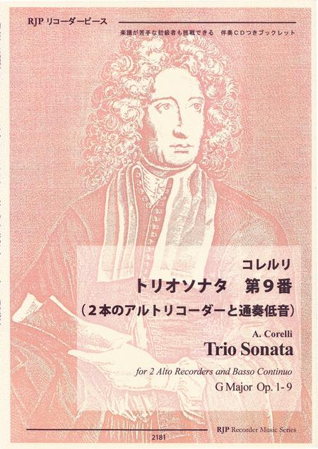 Trio Sonata  G Major Op. 1-9