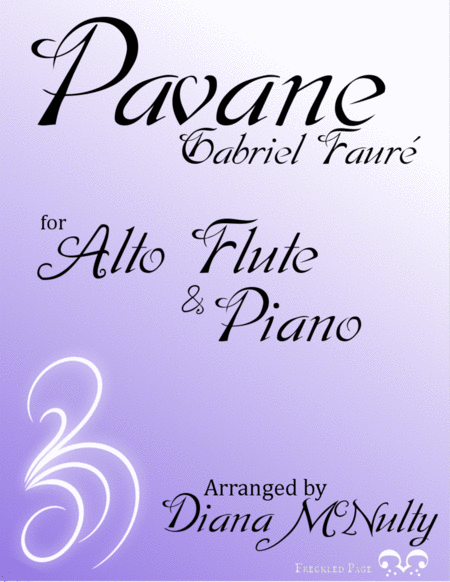 Pavane Op. 50 - for Alto Flute and Piano