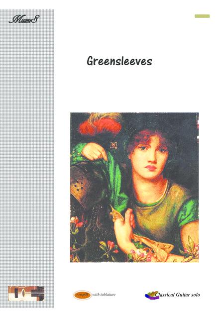 Greensleeves Guitar solo