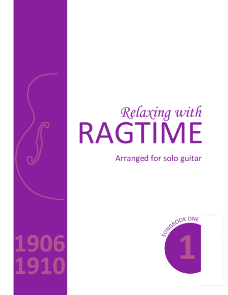 Relaxing with Ragtime Songbook
