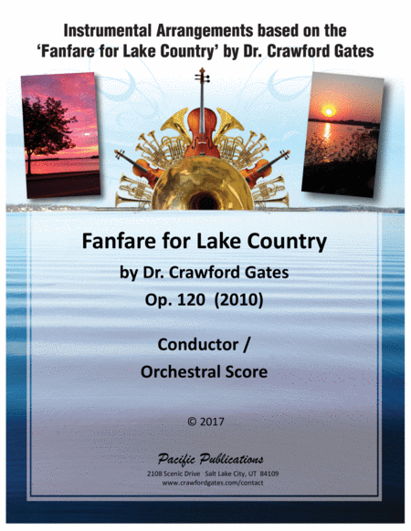 Fanfare for Lake Country Op. 120 - Conductor - Orchestral Score