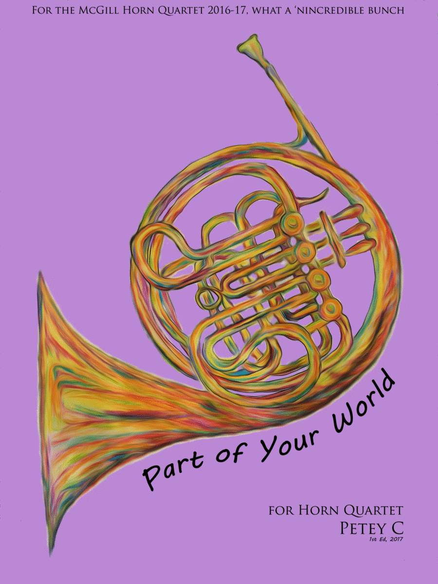 Part Of Your World: for Horn Quartet
