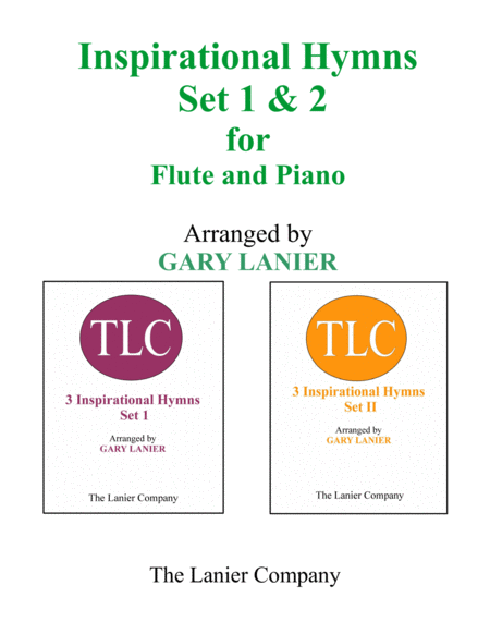 INSPIRATIONAL HYMNS Set 1 & 2 (Duets - Flute and Piano with Parts)