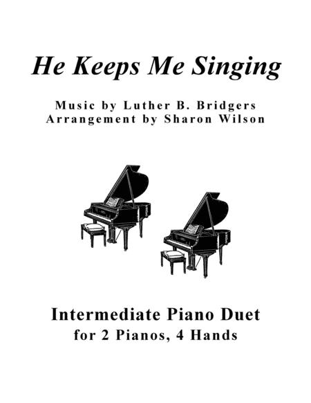 He Keeps Me Singing (2 Pianos, 4 Hands Duet)