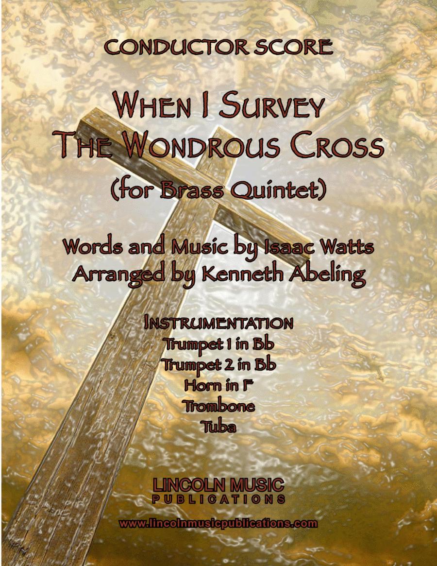 When I Survey the Wondrous Cross (Brass Quintet)