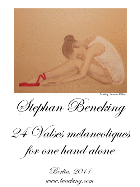 24 Valses melancoliques for one hand alone