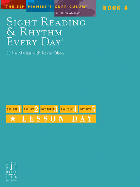 Sight Reading & Rhythm Every Day, Book 8