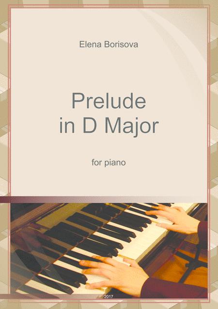 Prelude in D major