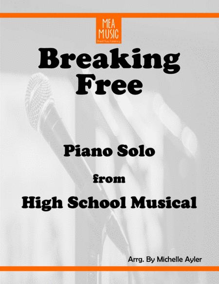 Breaking Free Advanced Piano Duet (HIGH SCHOOL MUSICAL)