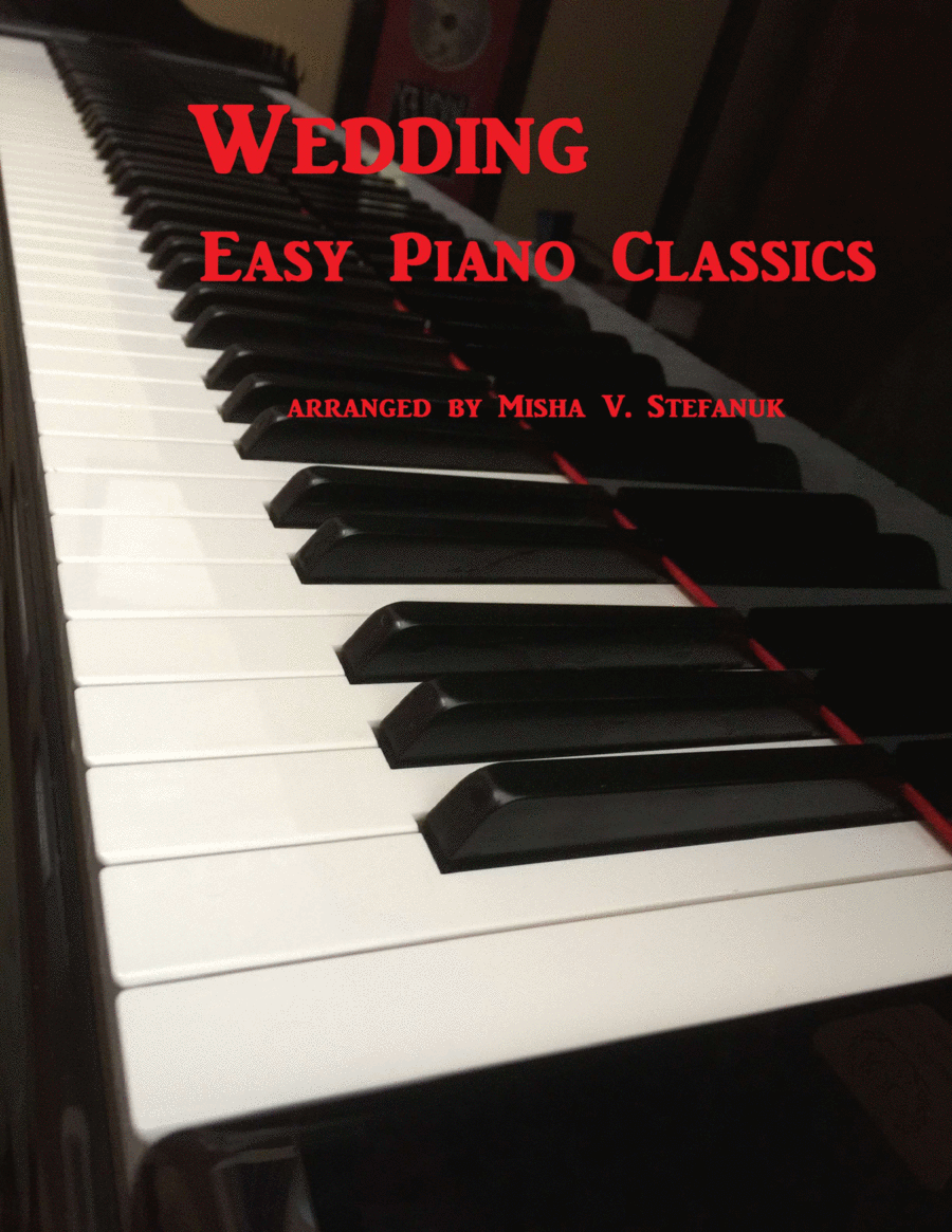 Wedding Easy Piano Classics