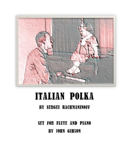 Italian Polka set for Flute and Piano