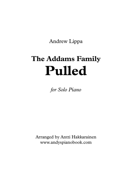 Pulled - The Addams Family