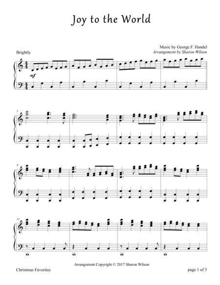 Joy to the World (Piano Solo)
