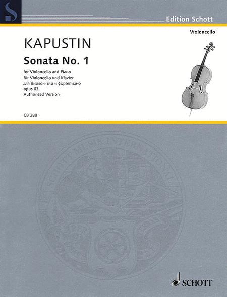 Sonata No. 1, Op. 63