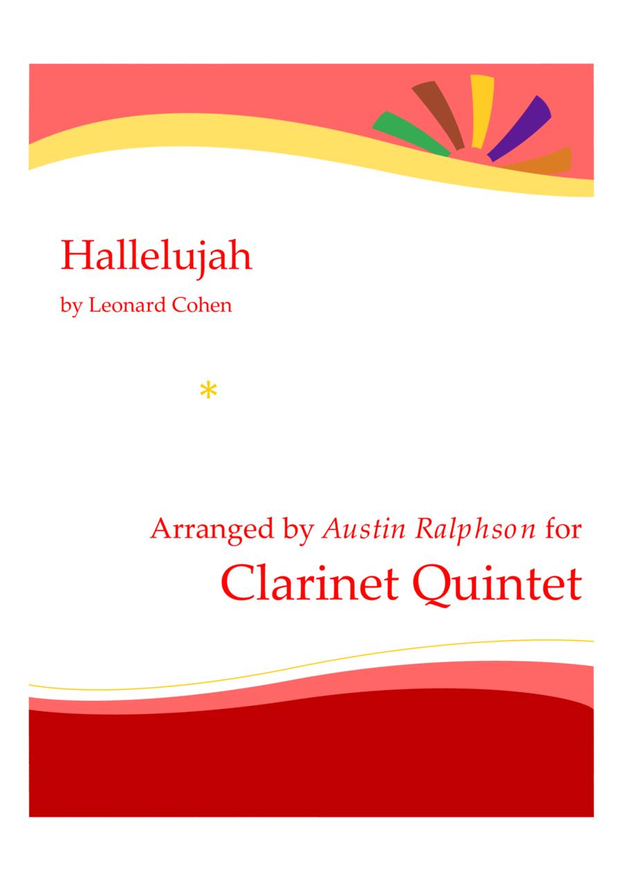 Hallelujah - clarinet quintet