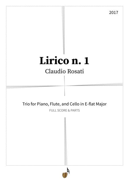 Lirico n. 1 (piano-cello-flute)