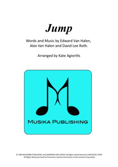 Jump (Van Halen) for Brass Quartet
