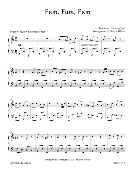 Fum, Fum, Fum (Piano Solo)