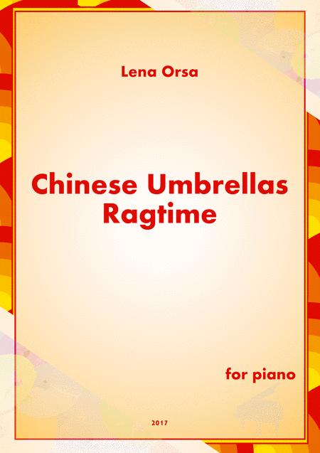 Chinese Umbrellas Ragtime