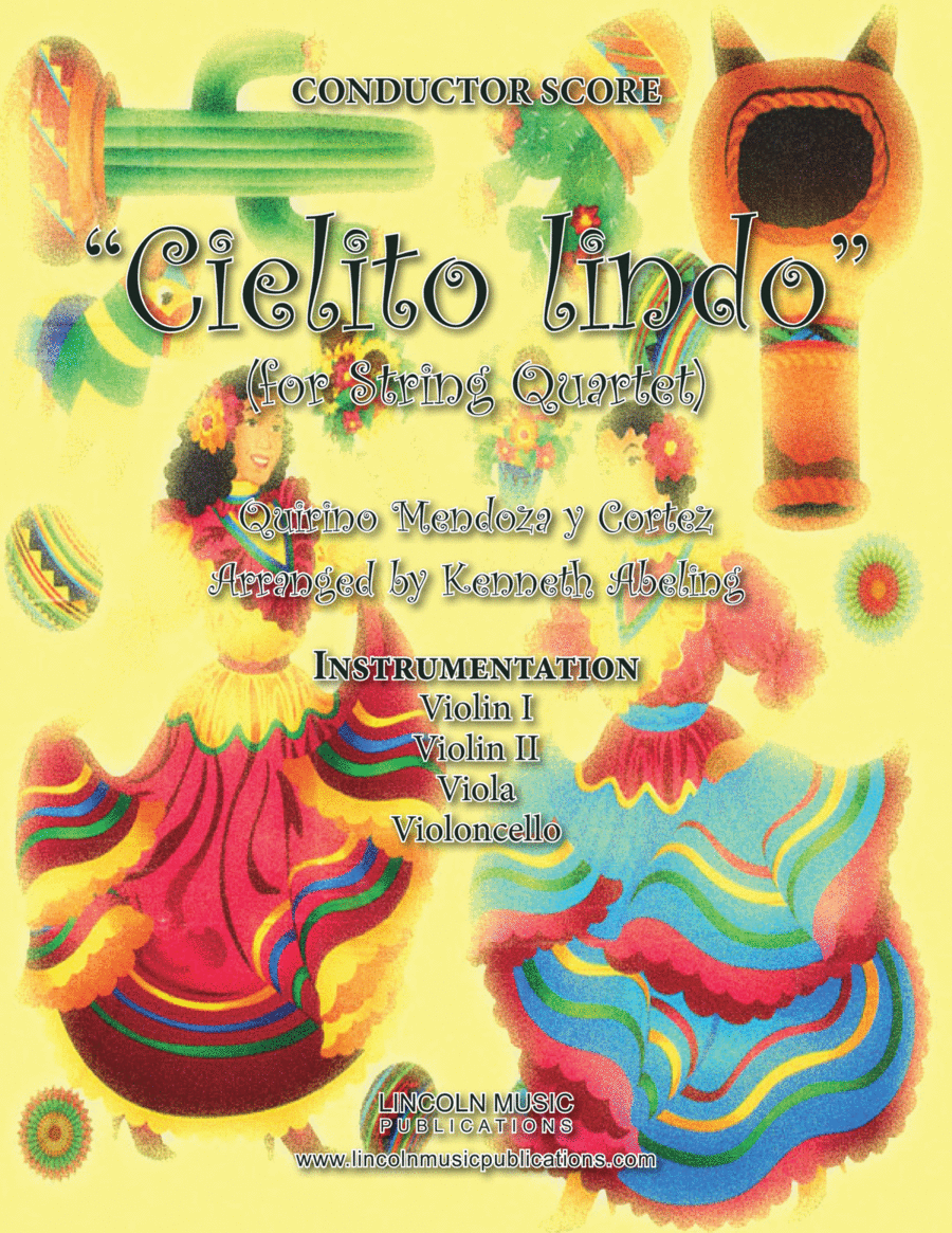 Cielito lindo (for String Quartet)