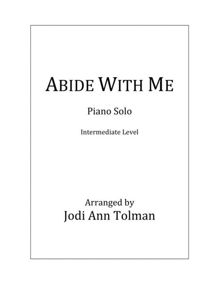 Abide With Me, Piano Solo