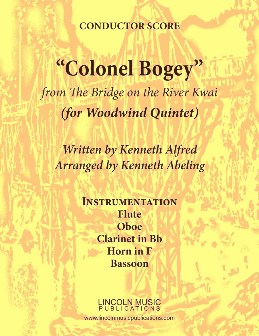 """March - """"Colonel Bogey"""" (for Woodwind Quintet)"""