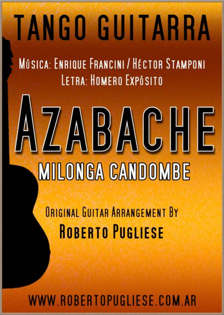 Azabache - MIlonga Candombe guitar