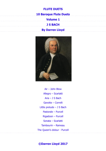 Flute duets - 10 Baroque duets - Volume 1