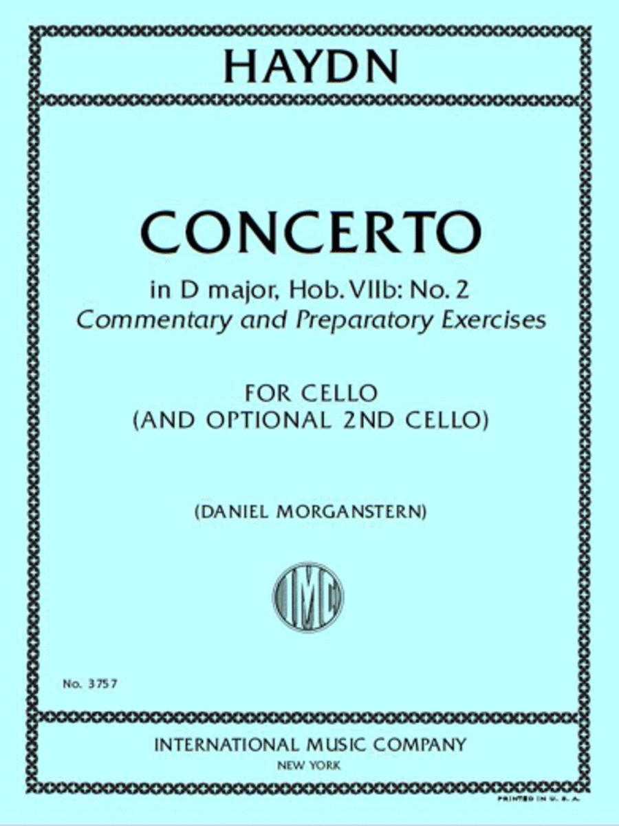 Concerto in D Major, Hob. VIIb: No. 2