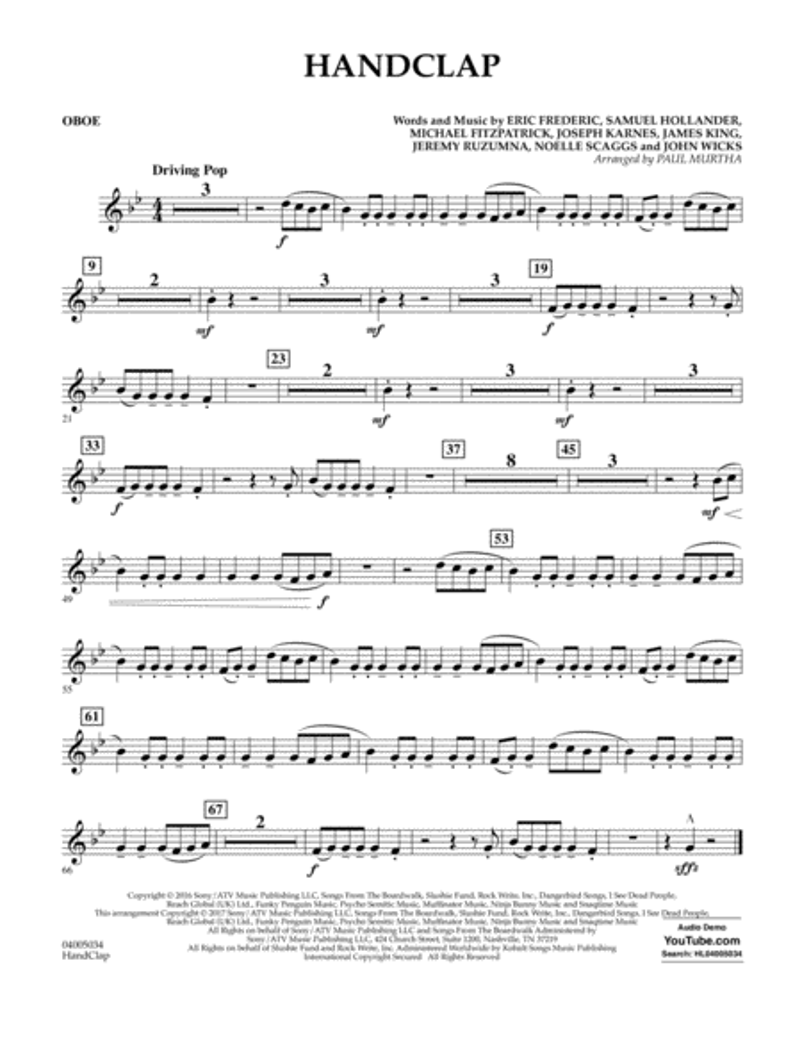 HandClap - Oboe