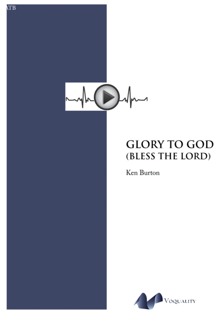 Glory To God (Bless The Lord)