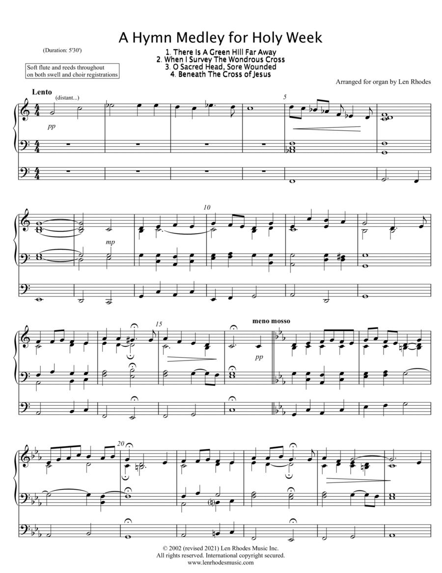 Good Friday - Medley for Organ Solo