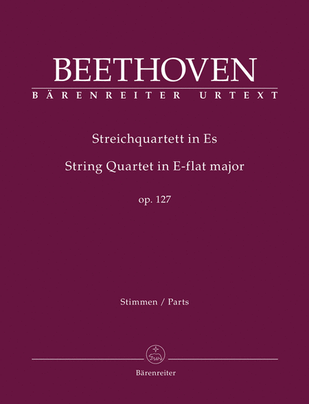 String Quartet E-flat Major op. 127