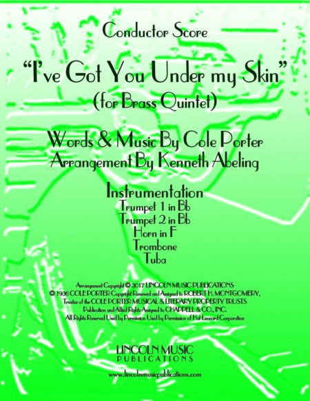 I've Got You Under My Skin (for Brass Quintet)