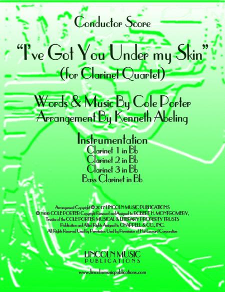 I've Got You Under My Skin (for Clarinet Quartet)