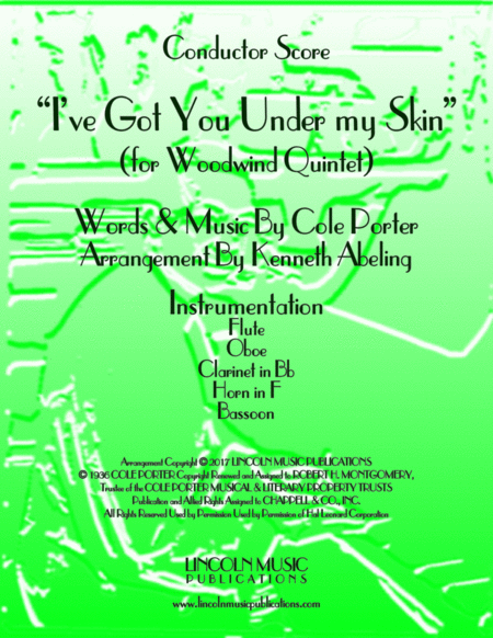 I've Got You Under My Skin (for Woodwind Quintet)