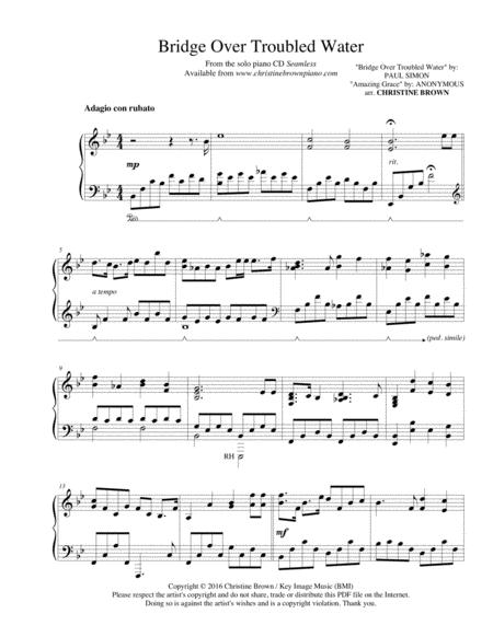 Bridge Over Troubled Water - Piano Solo