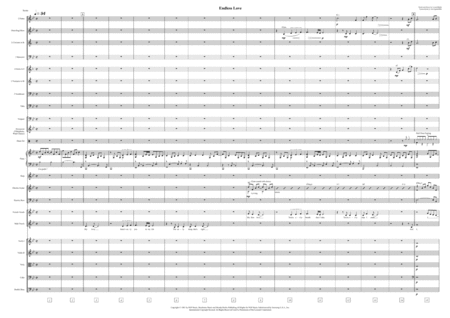 Endless Love (Orchestra and Voice, Score only)