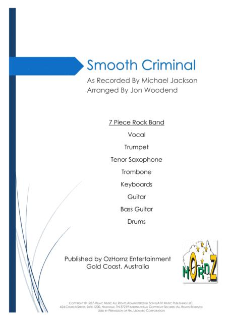 Smooth Criminal - 7 Piece Horn Chart