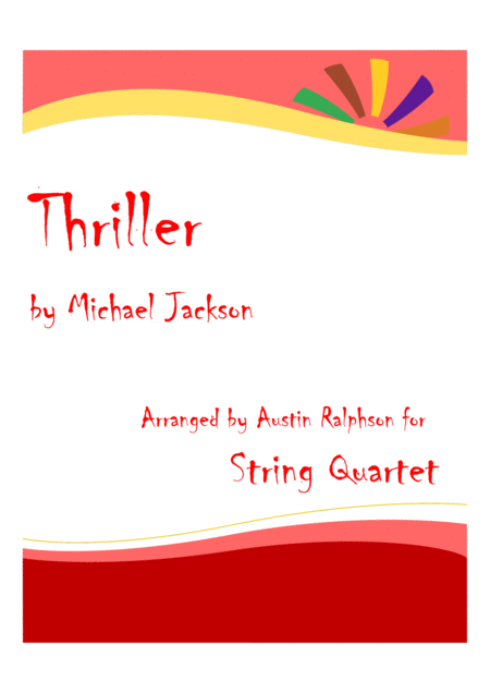 Thriller - string quartet