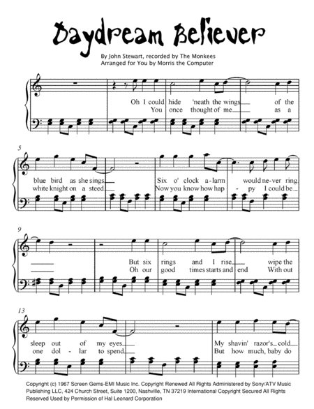 believer piano sheet music pdf