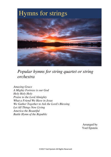 HYmns for Strings: Popular hymns for string quartet or string orchestra